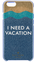 Kate Spade I Need A Vacation Glitter iPhone 6/6s Case