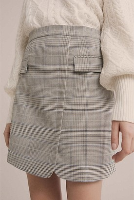 Witchery Check Mini Skirt