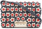 Zac Posen flower embellished crossbody bag