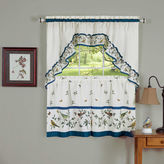 Asstd National Brand Lovebirds Rod-Pocket Window Tier and Swag Valance Set