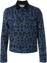 Givenchy star print denim jacket - men - Cotton - L