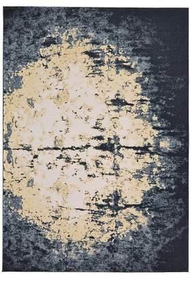 Weave & Wander 5'X8' Galaxy Woven Area Rugs Rich Charcoal - Weave & Wander