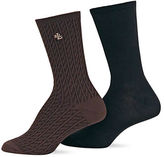 Ralph Lauren 2-Pack Supersoft Cable Polo Trouser Socks