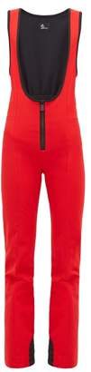 Moncler Genius - Flared-leg Salopettes - Womens - Red