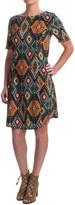 Chelsea & Theodore Swing Dress - Short Sleeve (For Women)