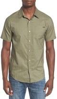 O'Neill Men's 'Astoria' Extra Trim Fit Print Short Sleeve Woven Shirt