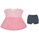 Absorba AbsorbaBaby Girls Floral Blouse & Shorts Set