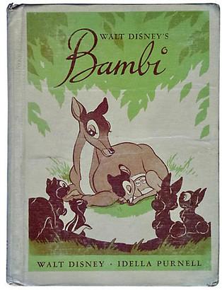 One Kings Lane Vintage Walt Disney's Bambi - 1944 - green/brown