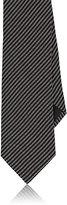Barneys New York Men's Dotted-Stripe Woven Necktie