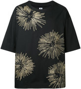 SASQUATCHfabrix. floral embroidered T-shirt - men - Cotton/Linen/Flax - S
