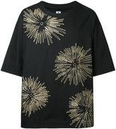 SASQUATCHfabrix. floral embroidered T-shirt