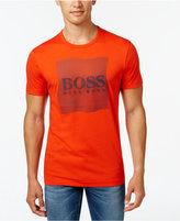 HUGO BOSS Green Men's Graphic-Print Logo T-Shirt