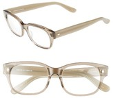 Corinne McCormack Women's Rihanna 50Mm Reading Glasses - Transparent Grey