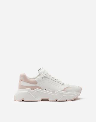 Dolce & Gabbana Calfskin Nappa Daymaster Sneakers