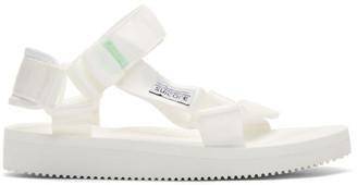 Suicoke White DEPA-Cab Sandals