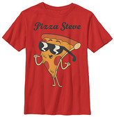 Fifth Sun Boys' Tee Shirts RED - Uncle Grandpa Red 'Pizza Steve' Tee - Boys
