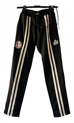 Represent Black Polyester Trousers