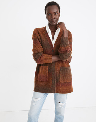 Madewell Space-Dyed Maysfield Cardigan Sweater