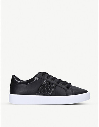 Aldo Pernille faux-leather trainers