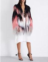 Rodarte Multi-coloured goat hair jacket