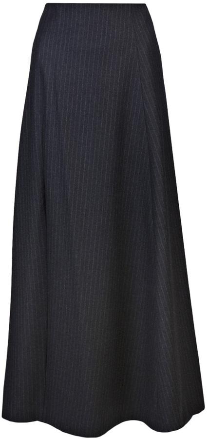 Comme des Garcons Chalk stripe skirt