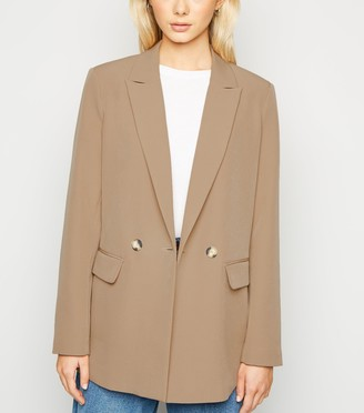 New Look Double Breasted Long Sleeve Blazer