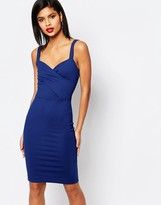 French Connection Lula Stretch Strappy Dress