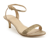 Gold Kitten Heel Women&39s Sandals - ShopStyle