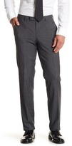 HUGO BOSS Shark Plaid Wool Trouser