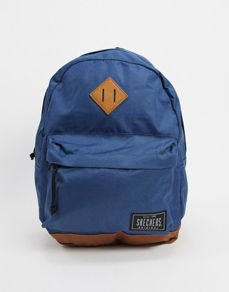 Skechers backpack with front pocket navy