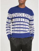 Gucci Loved-motif wool jumper
