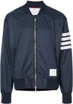 Thom Browne bomber jacket - men - Cotton/Polyester - 1