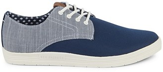 Ben Sherman Preston Two-Tone Canvas Sneakers