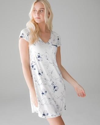Soma Intimates Short Sleeve Sleepshirt