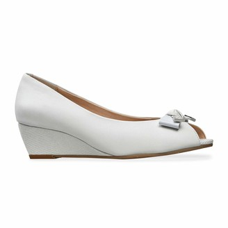 Van Dal Womens Appledore Wide E Fit Peep-Toe Wedge