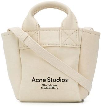 Acne Studios Mini Canvas Tote Bag