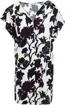Diane von Furstenberg Printed Crepe Mini Dress
