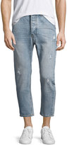 One Teaspoon Mr. Brown Whiskered Distressed Jeans, Blue