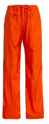 MONITALY Too Easy Crinkled Shell Drawstring Pants