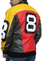 Fjackets Michael Hoban 8 Ball Real Leather Jacket M