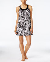 Alfani Printed U-Neck Chemise, Only at Macy's