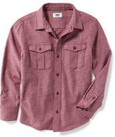 Old Navy Brushed-Twill Double-Pocket Shirt for Boys