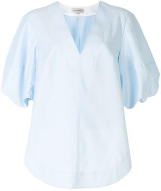 Lee Mathews Alice v-neck blouse