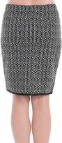 Max Studio Textural Pencil Skirt