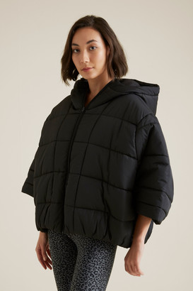 Seed Heritage Quilted Poncho