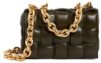 Bottega Veneta The Leather Chain Casette Cross-Body Bag