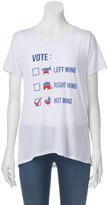 """Juniors' """"Vote Hot Wing"""" Crewneck Graphic Tee"""