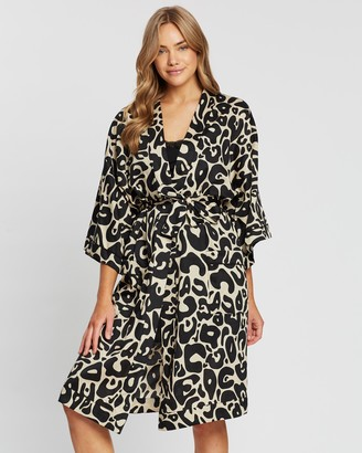 Chalmers Margaux Cotton Robe