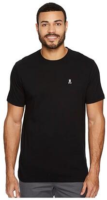 Psycho Bunny Crew Neck T-Shirt (Black) Men's T Shirt