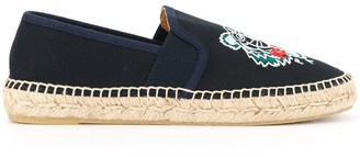 Kenzo Embroidered Tiger Espadrilles